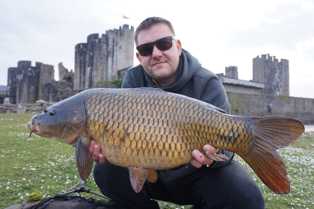 Brian needed just two hours to catch five carp to 17lb 8oz