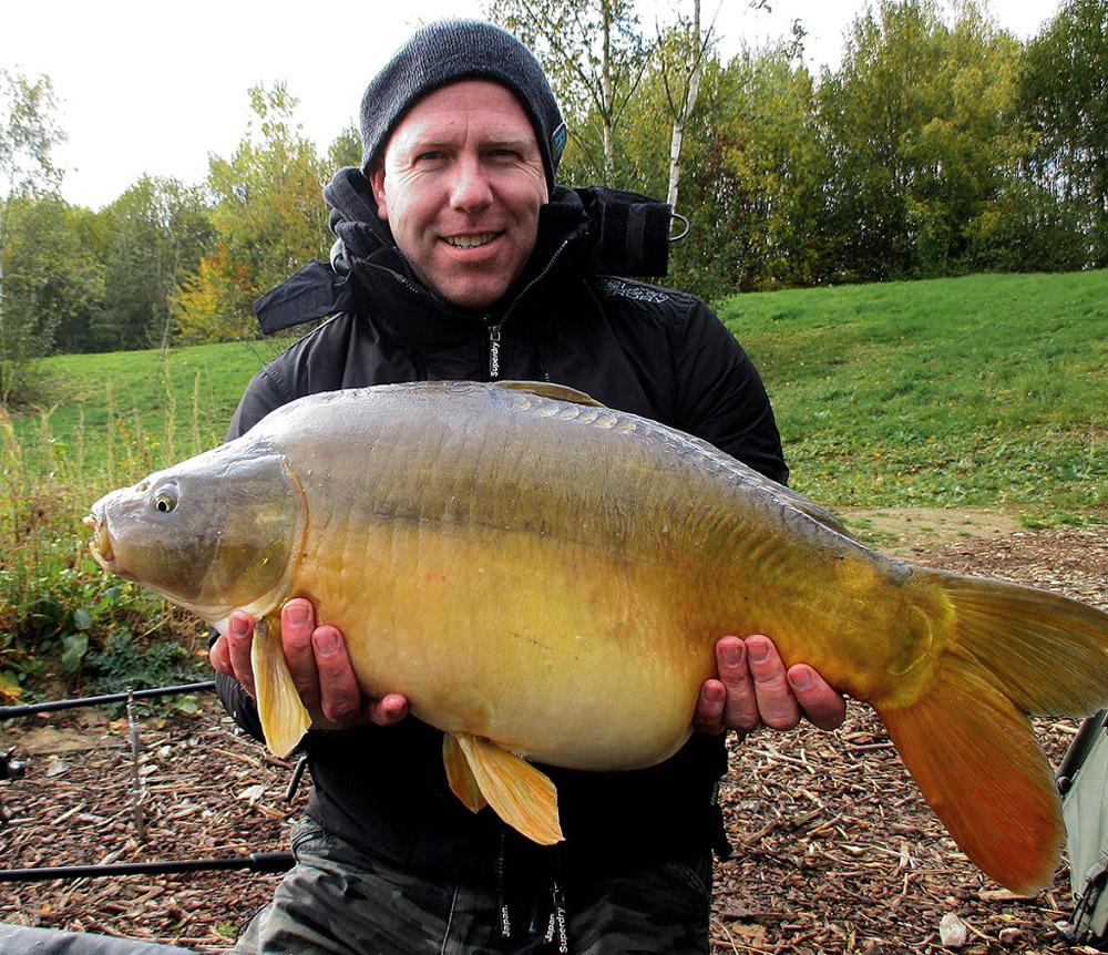 Jay Edwards with a 25-pounder