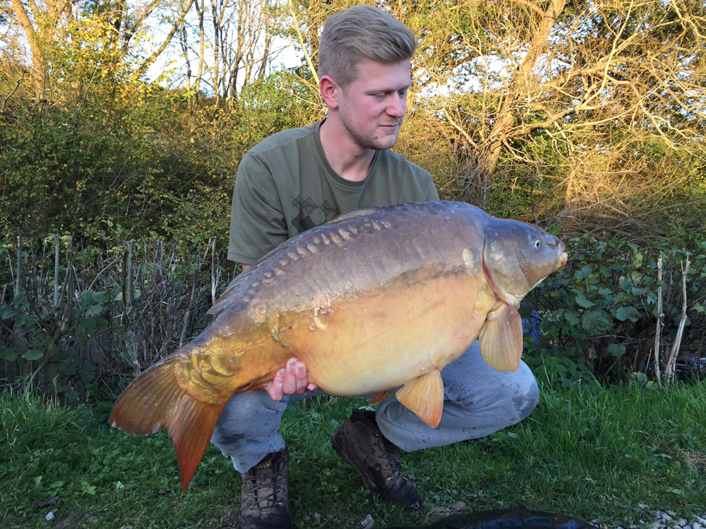 Dan Wickens with a 30