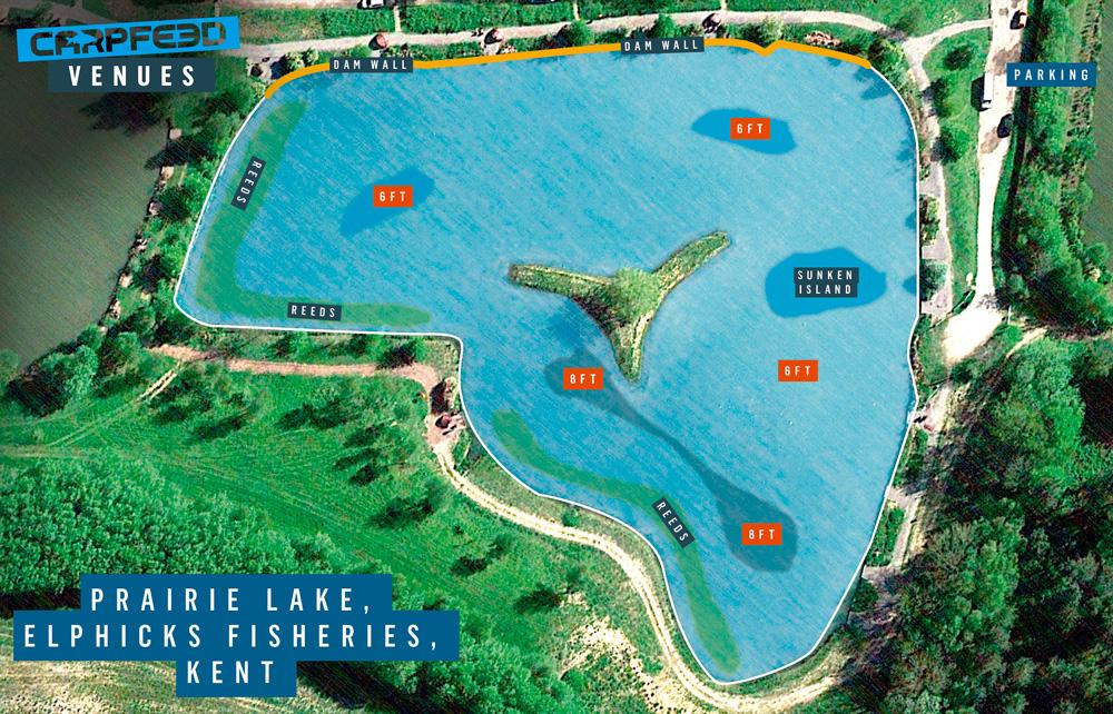Elphicks Prairie Lake Map