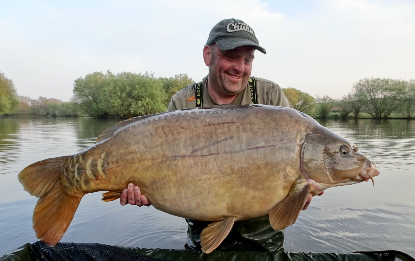 This 53-pounder was caught old-school style!