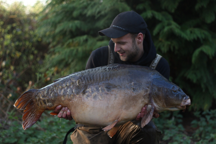 What a fish! All 48lb 14oz of it