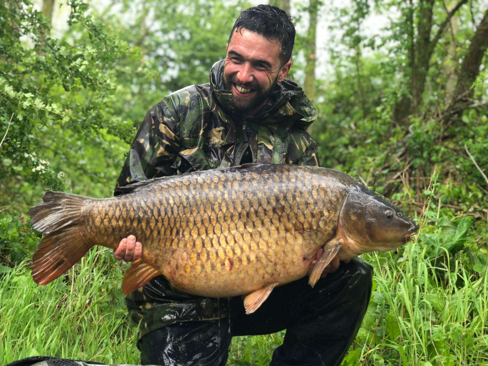 All smiles for Rhys with this 41lb 8oz common