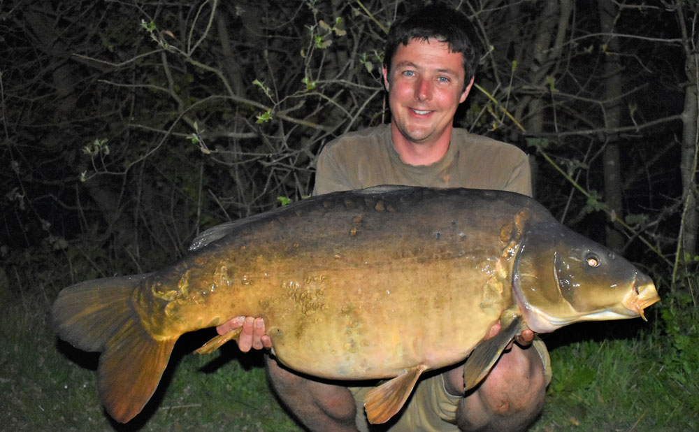 This mirror went 49lb 8oz from Black Swan at Dinton