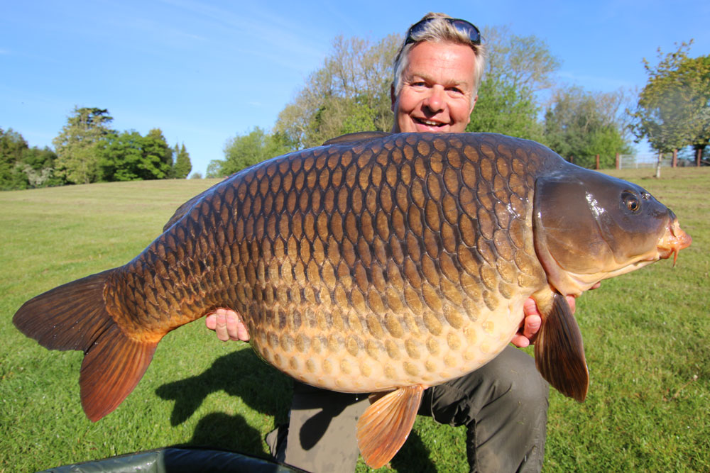 Rob with Ellie at 56lb 12oz