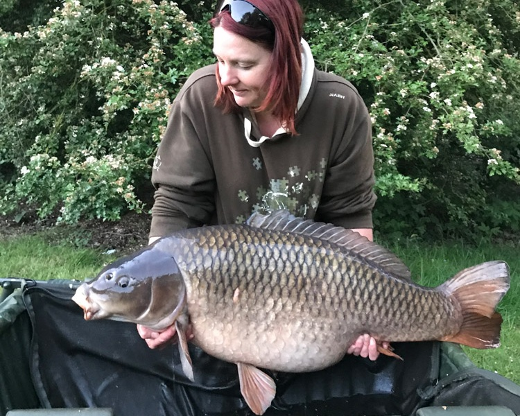 48lb 4oz of Bank Holiday delight for Sarah