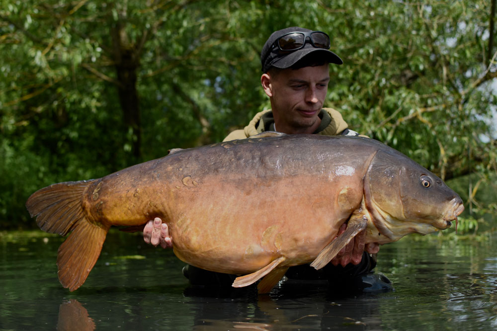 A-Team member Spike at 40lb 8oz for in-form Terry