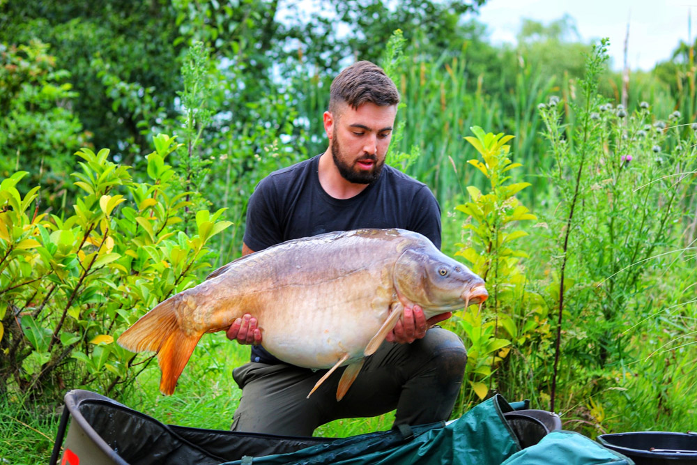 Droptail at 42lb 8oz was the first fish and smashed Sam's pb by 20lb