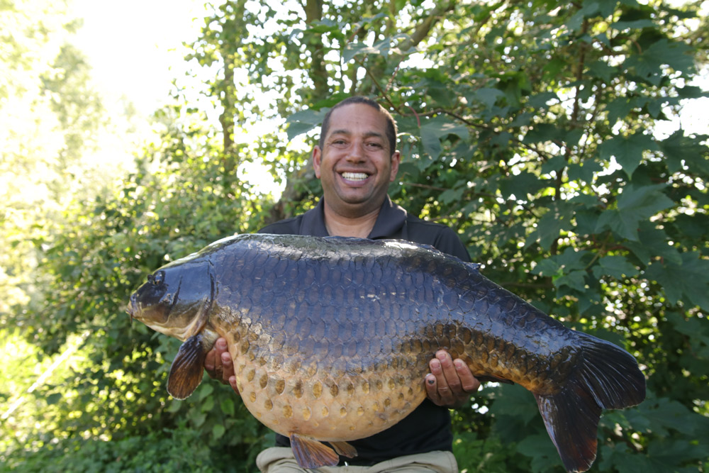 Not what Toby was expecting, but a cracking day-ticket common at 49lb 8oz