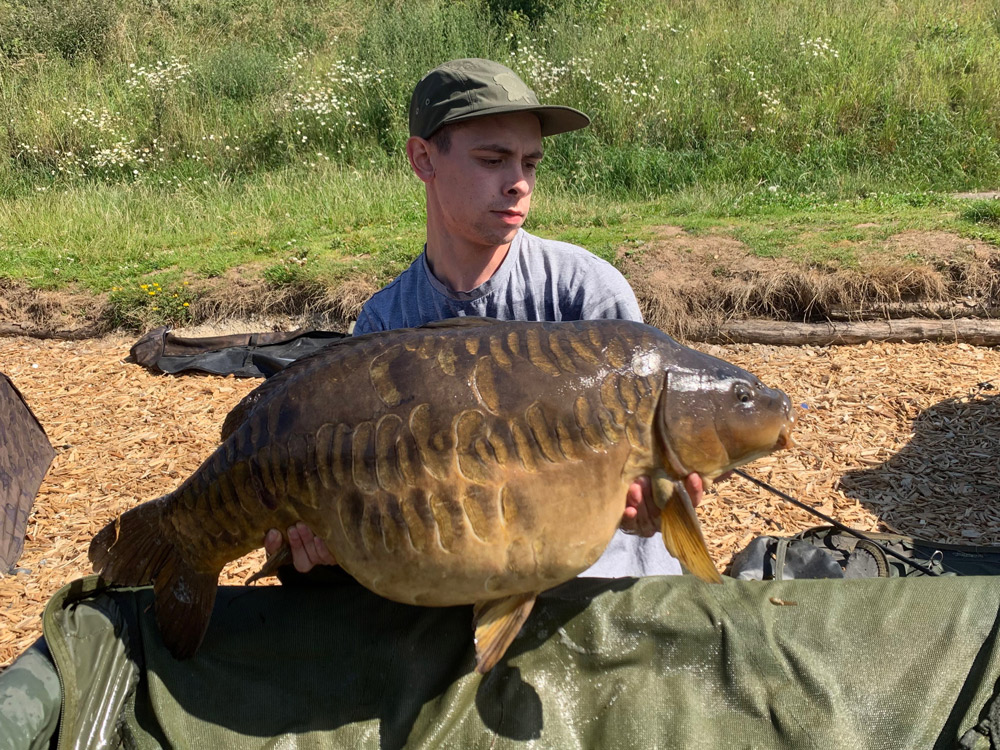 It smashed Tyron's previous personal best by 12lb