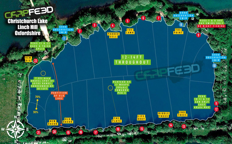 Linch Hill Christchurch swim map.jpg