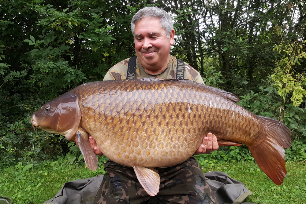 Not bad for a first visit! 51lb 8oz of stunning common