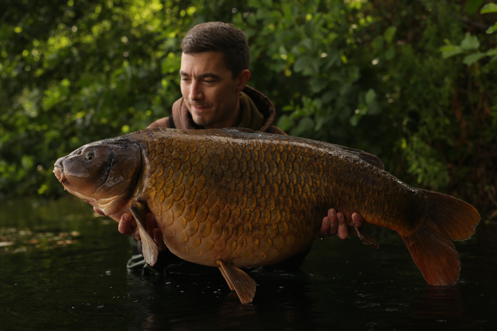 A new lake record at a venue containing just 15 carp
