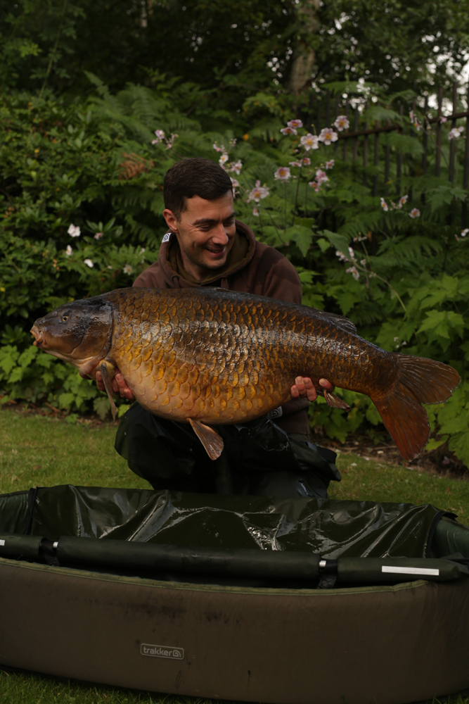 The stars aligned for Ben with this 46lb 10oz beaut