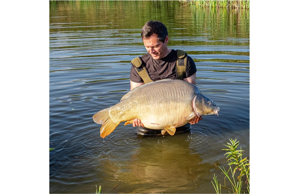 Silverback at exactly 52lb on Nick's only session of the year