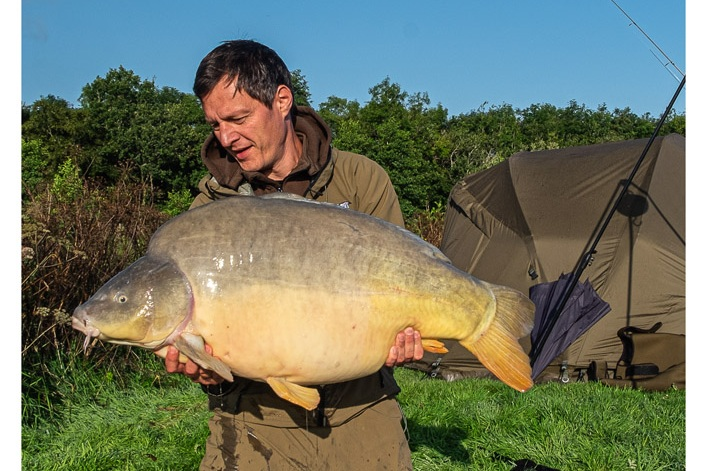 The big mirror is the biggest fish on site