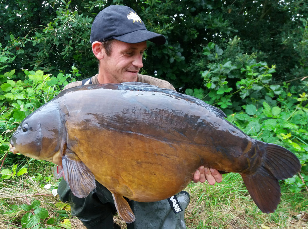 Another Thames 40 for Ash. This one went 41lb 4oz