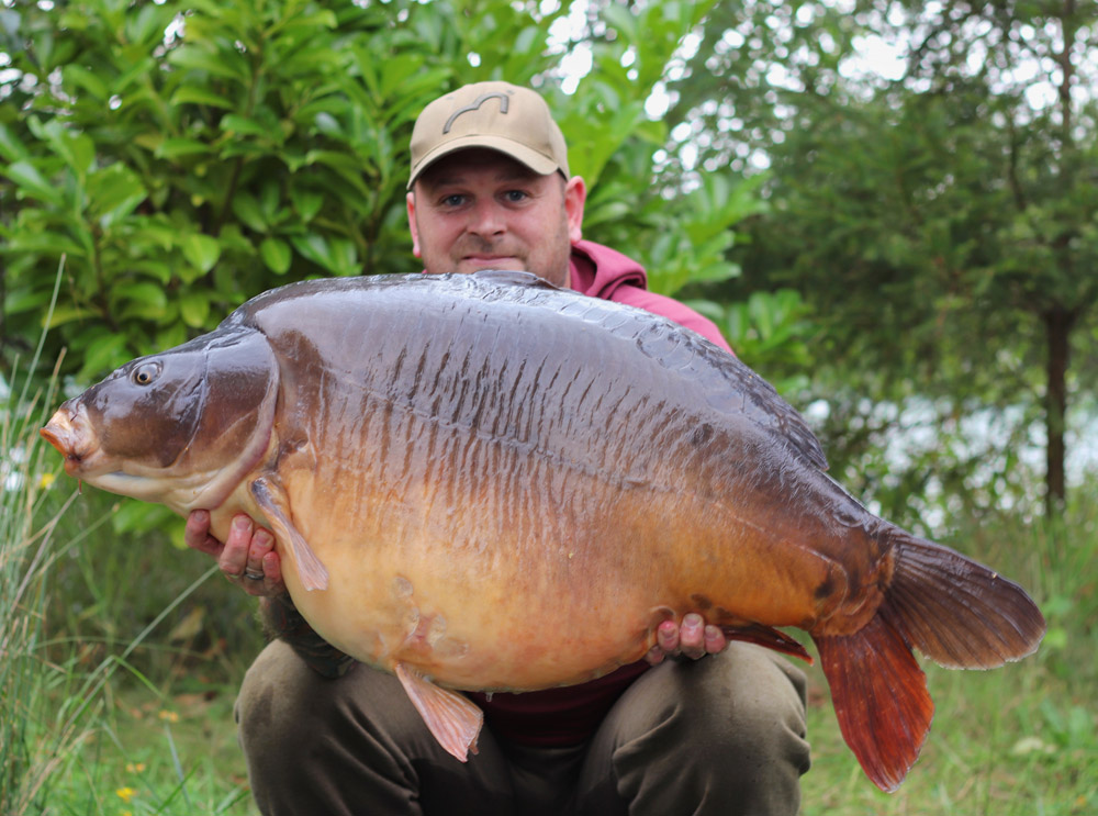 The fish is called Big Paul's and went 53lb 3oz