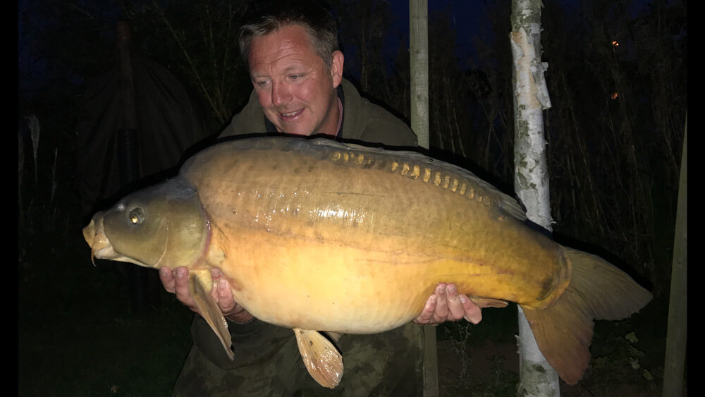 The biggest was this 36lb 8oz mirror
