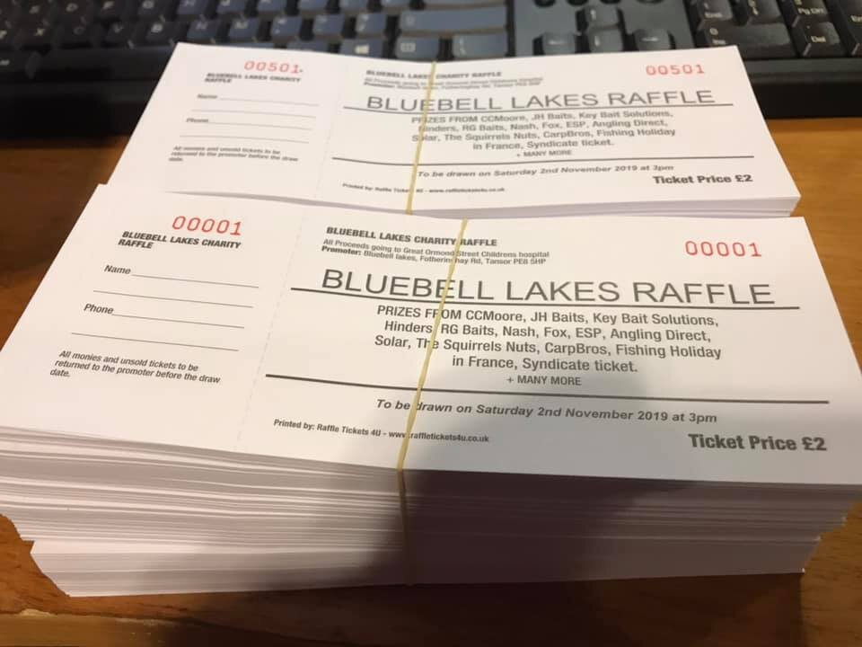 Raffle tickets are already selling well