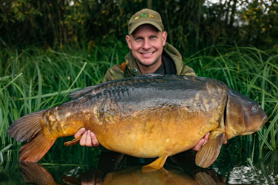 Kev caught this 40lb 14oz mirror from the complex earlier this month