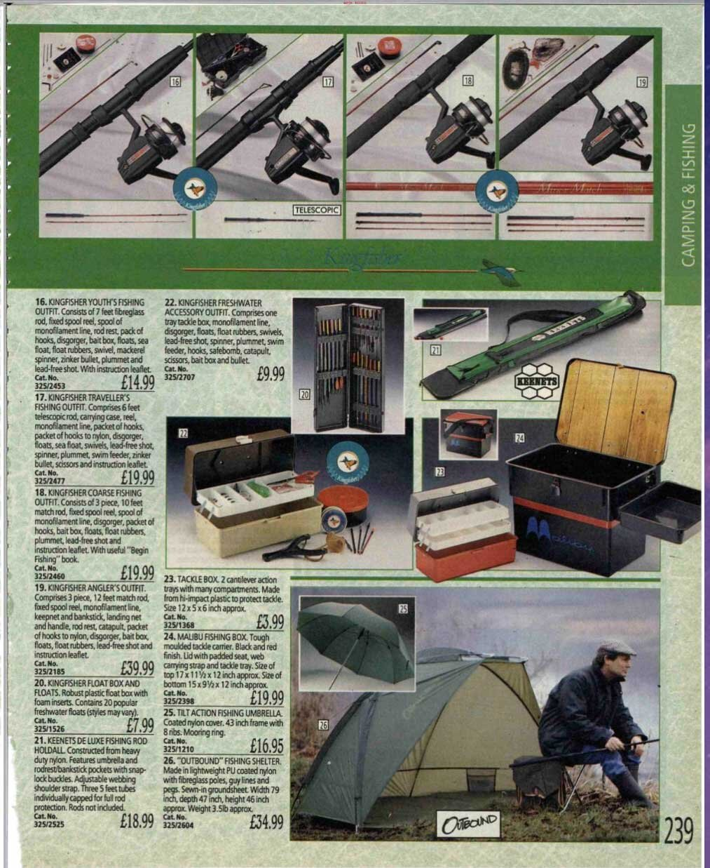 How many of those tackle boxes must they have sold back in 1991/2?!