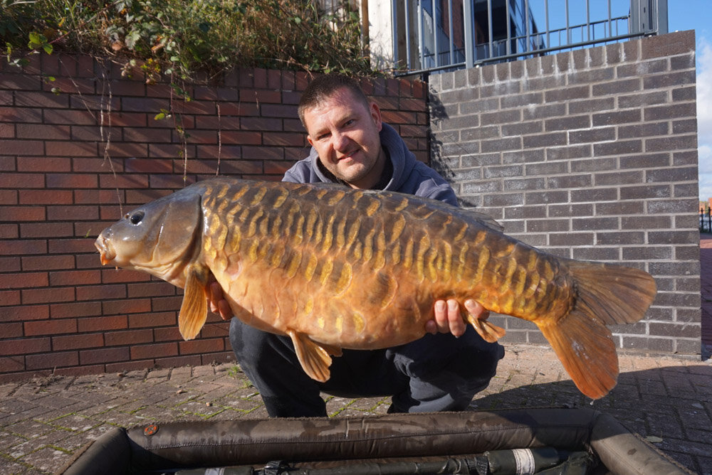 The biggest of the trip was this 35lb 8oz fully scaled mirror