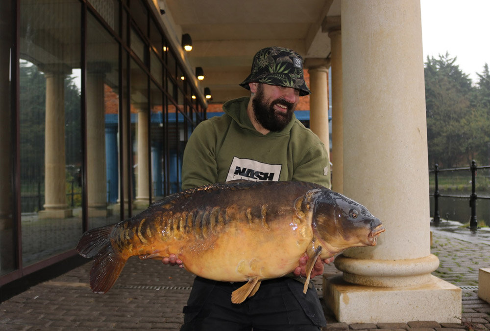 Pawprint at 45lb 8oz gave Andrew a new personal best