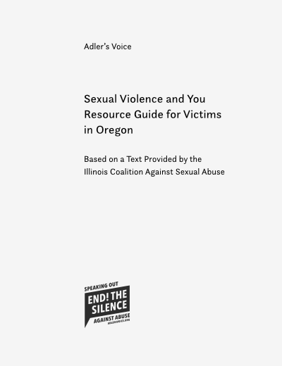 Resource Guide for Victims