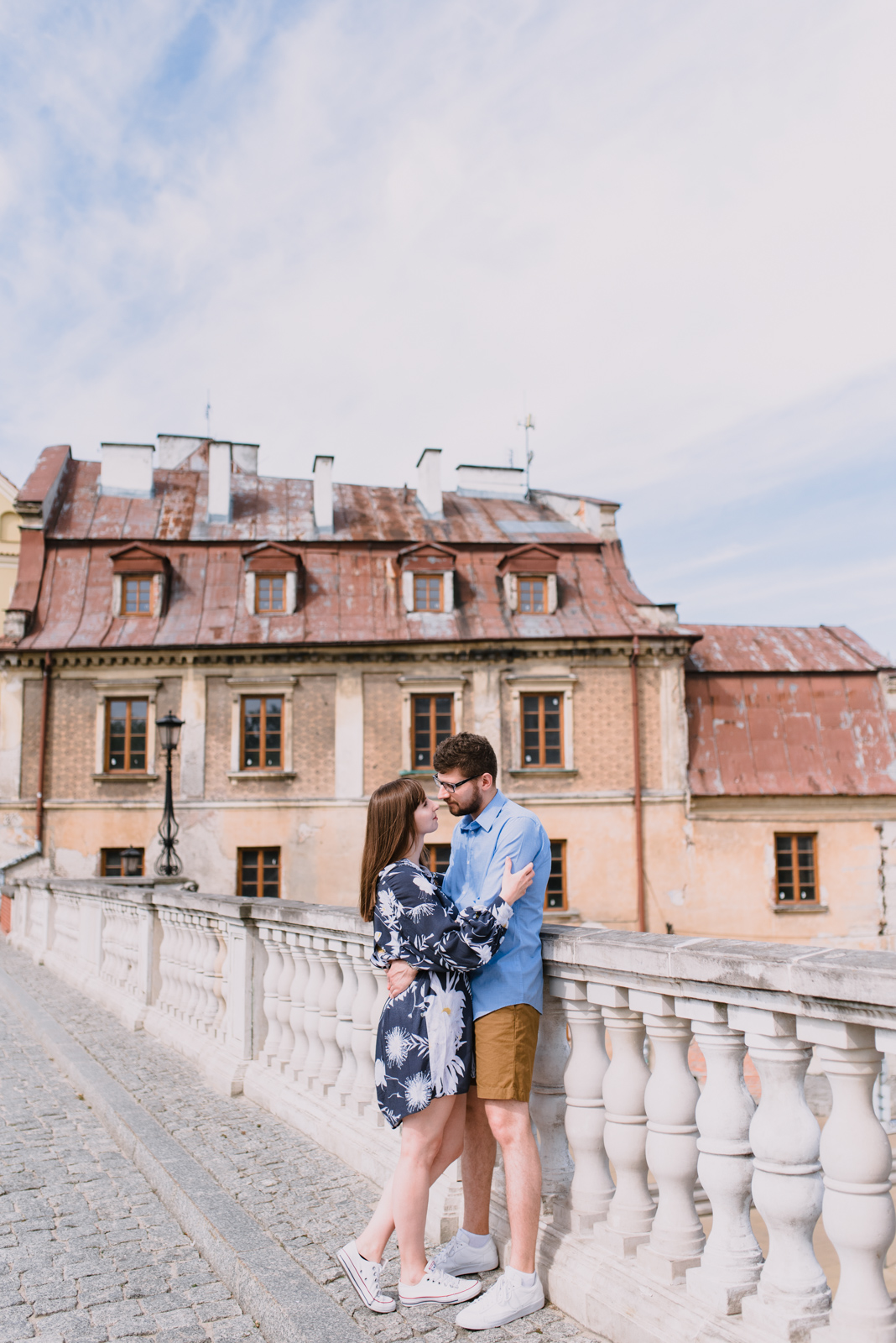 engagement shoot in Lublin Poland, summer engagement shoot in the city, old town engagement photos taken by Hello, Sugar Destination Wedding Photography-8.jpg