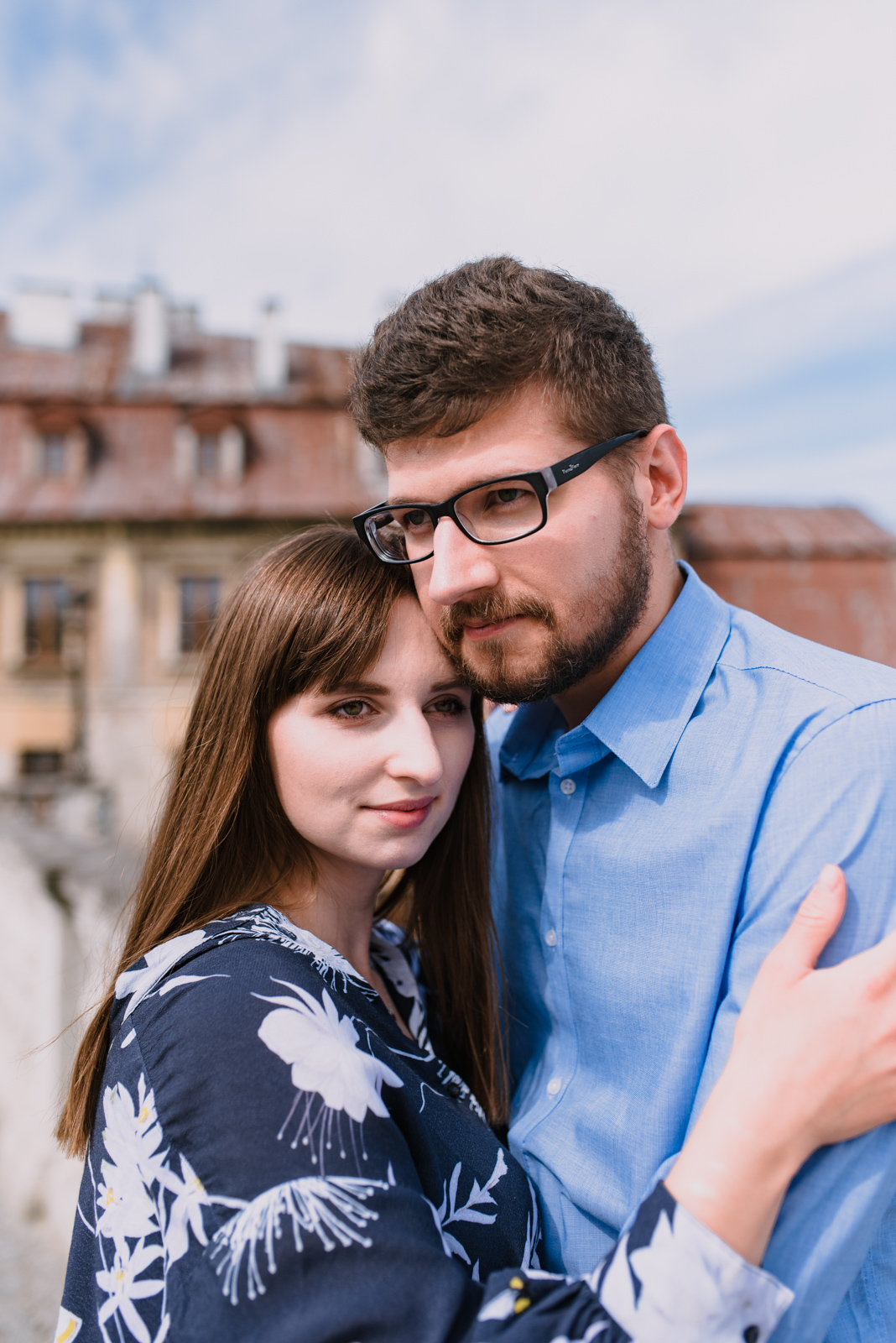 engagement shoot in Lublin Poland, summer engagement shoot in the city, old town engagement photos taken by Hello, Sugar Destination Wedding Photography-10.jpg