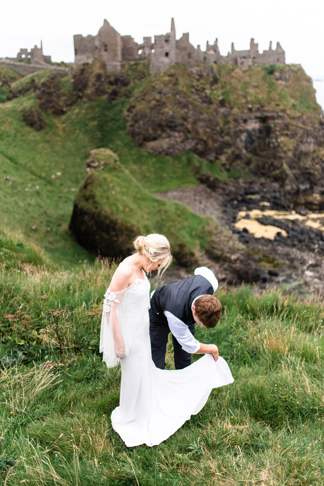 dunluce castle elopement in ireland in sage and white (37)-1.jpg