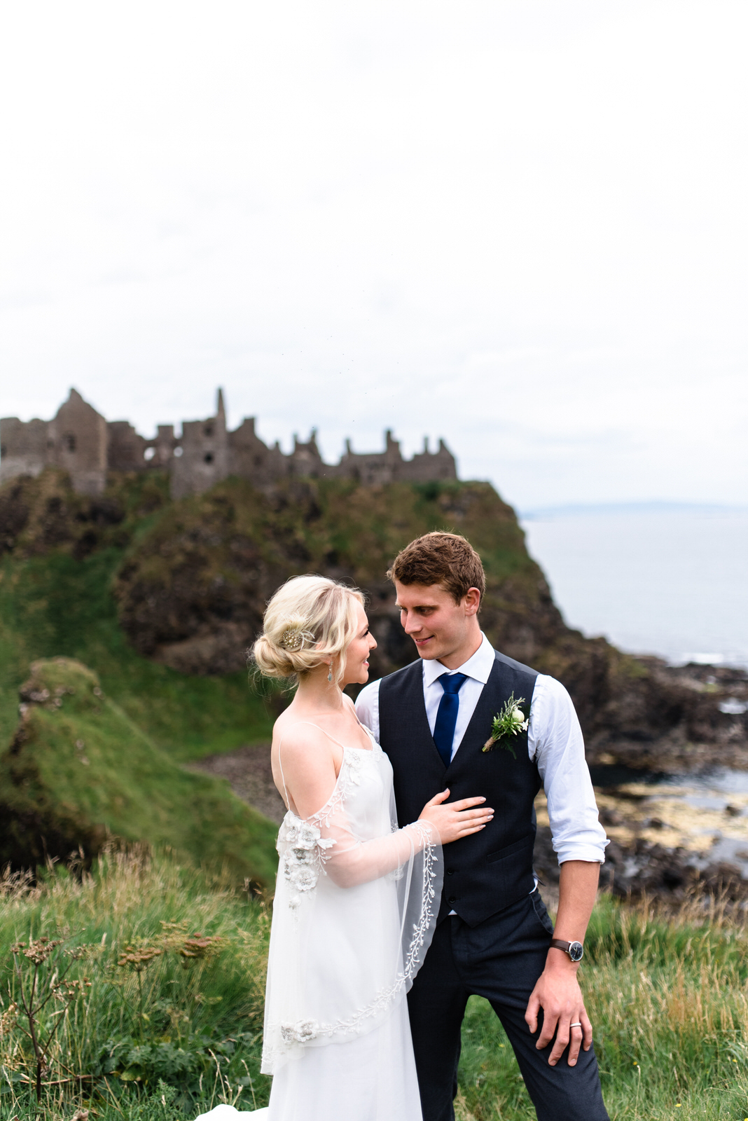 dunluce castle elopement in ireland in sage and white (38)-1.jpg