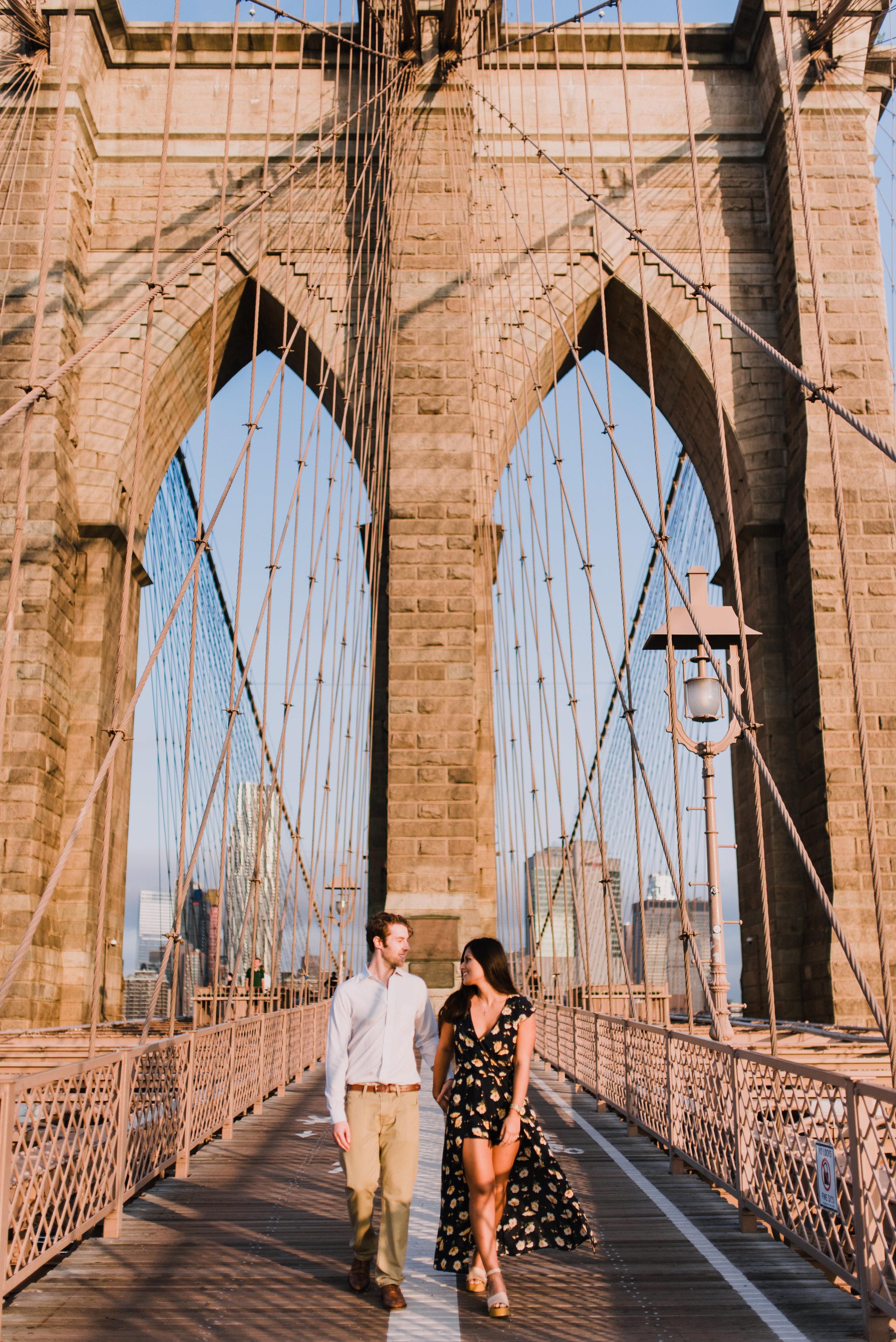 Brooklym Bridge engagement photography, NY wedding photographer, NYC elopement photographer, NYC wedding photographer (7).jpg