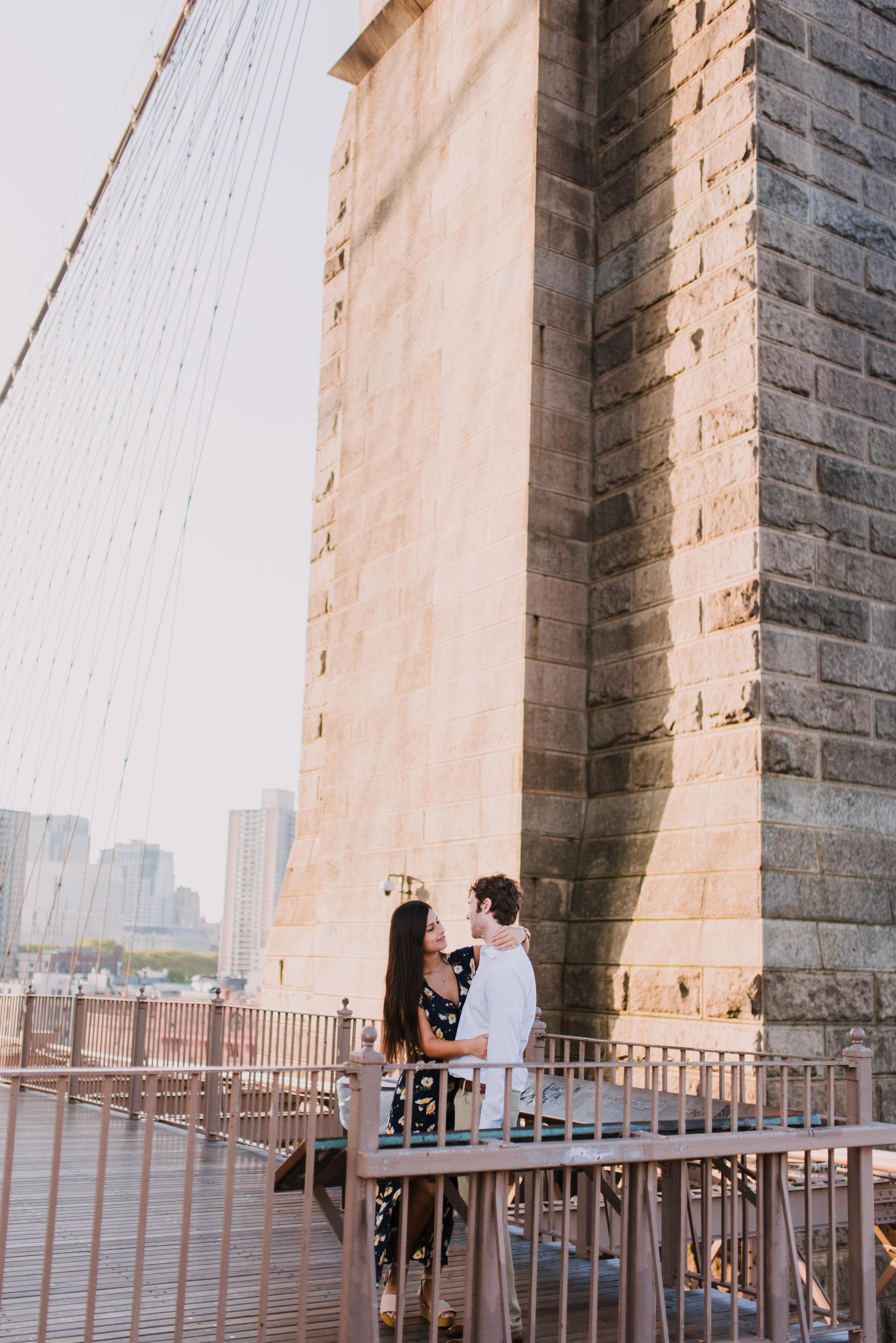 Brooklym Bridge engagement photography, NY wedding photographer, NYC elopement photographer, NYC wedding photographer (16).jpg
