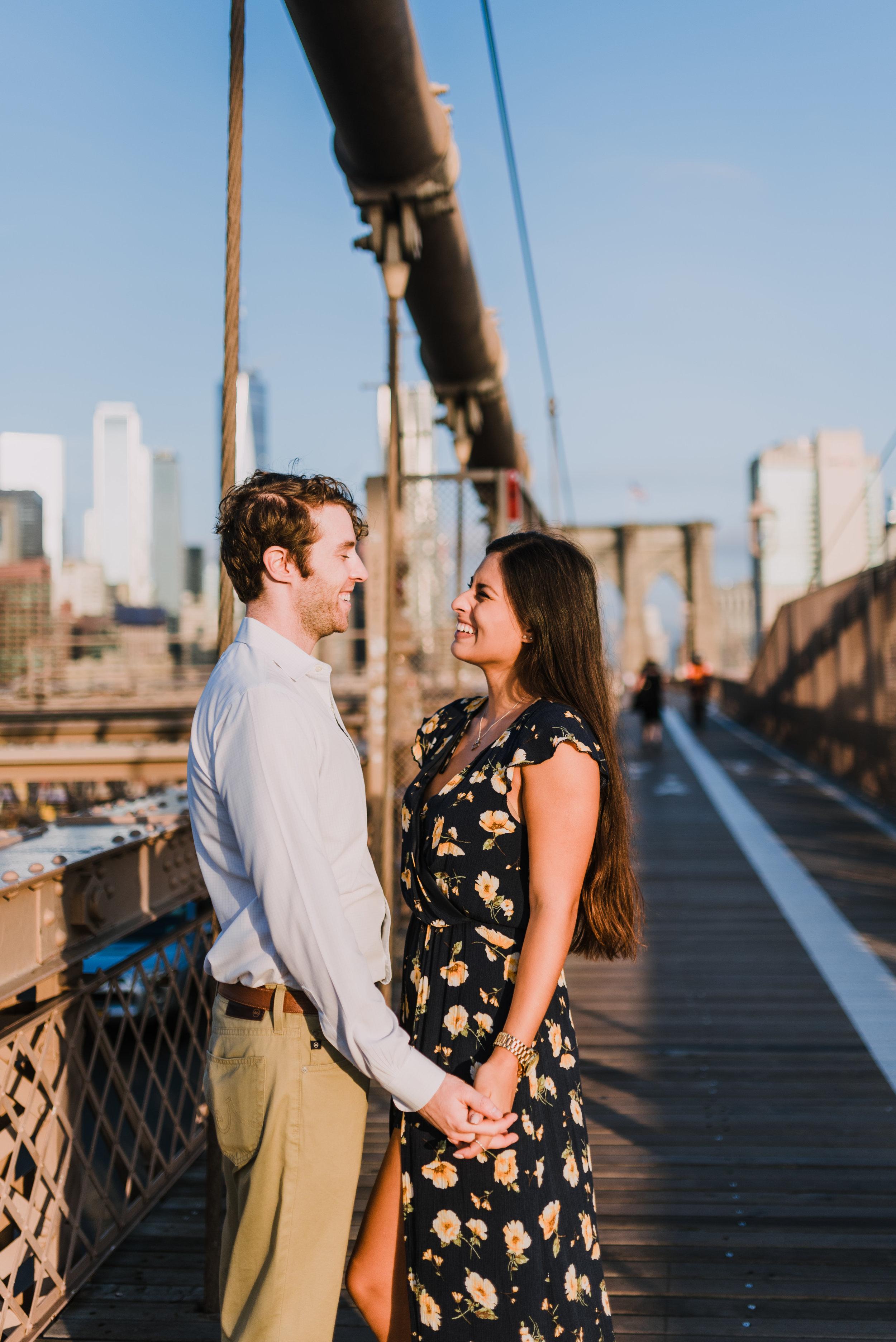 brooklyn bridge engagement shoot, couple shoot nyc, nyc wedding photographer, destination wedding photographer, documentary wedding photographer in nyc (18).jpg