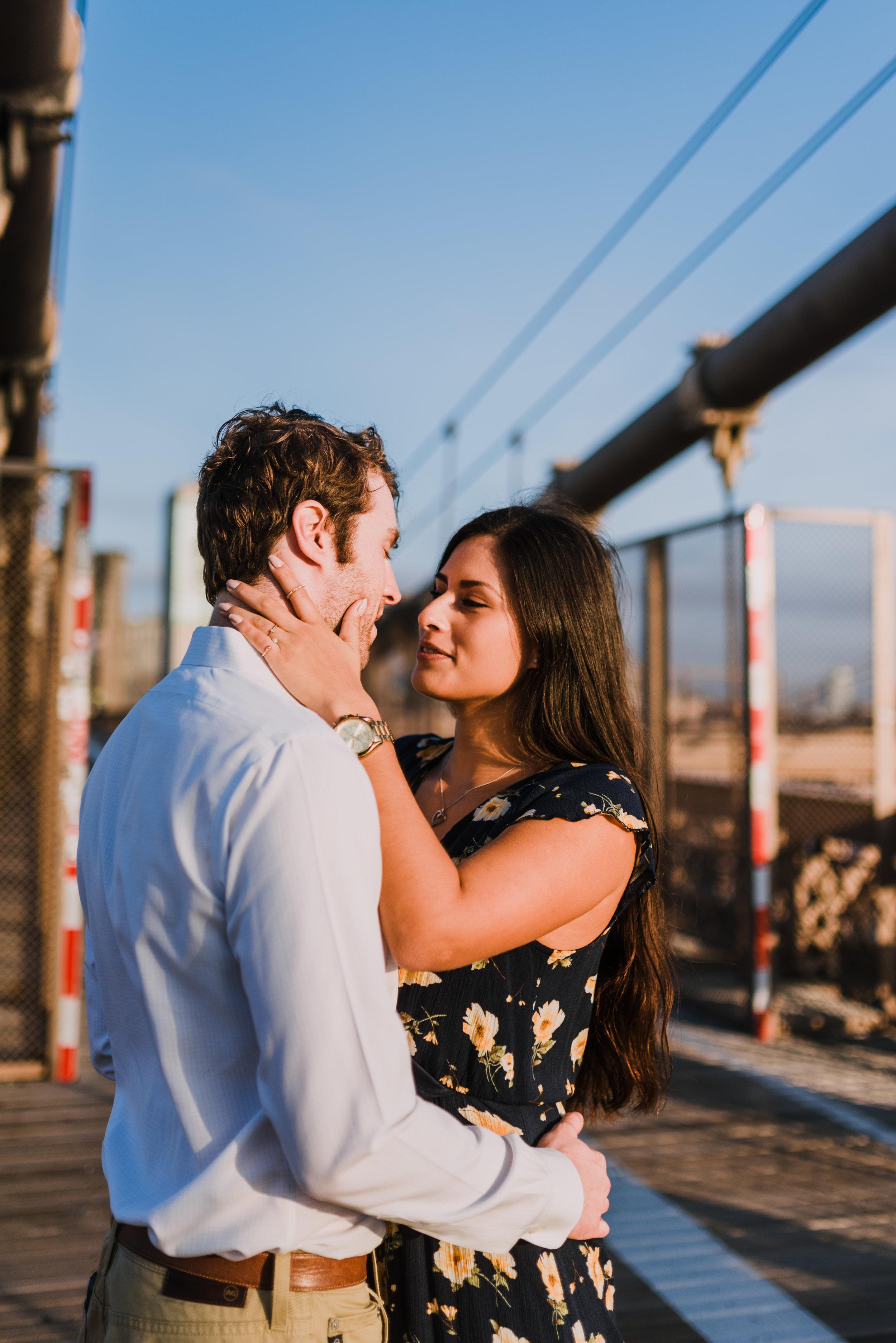 brooklyn bridge engagement shoot, couple shoot nyc, nyc wedding photographer, destination wedding photographer, documentary wedding photographer in nyc (20).jpg