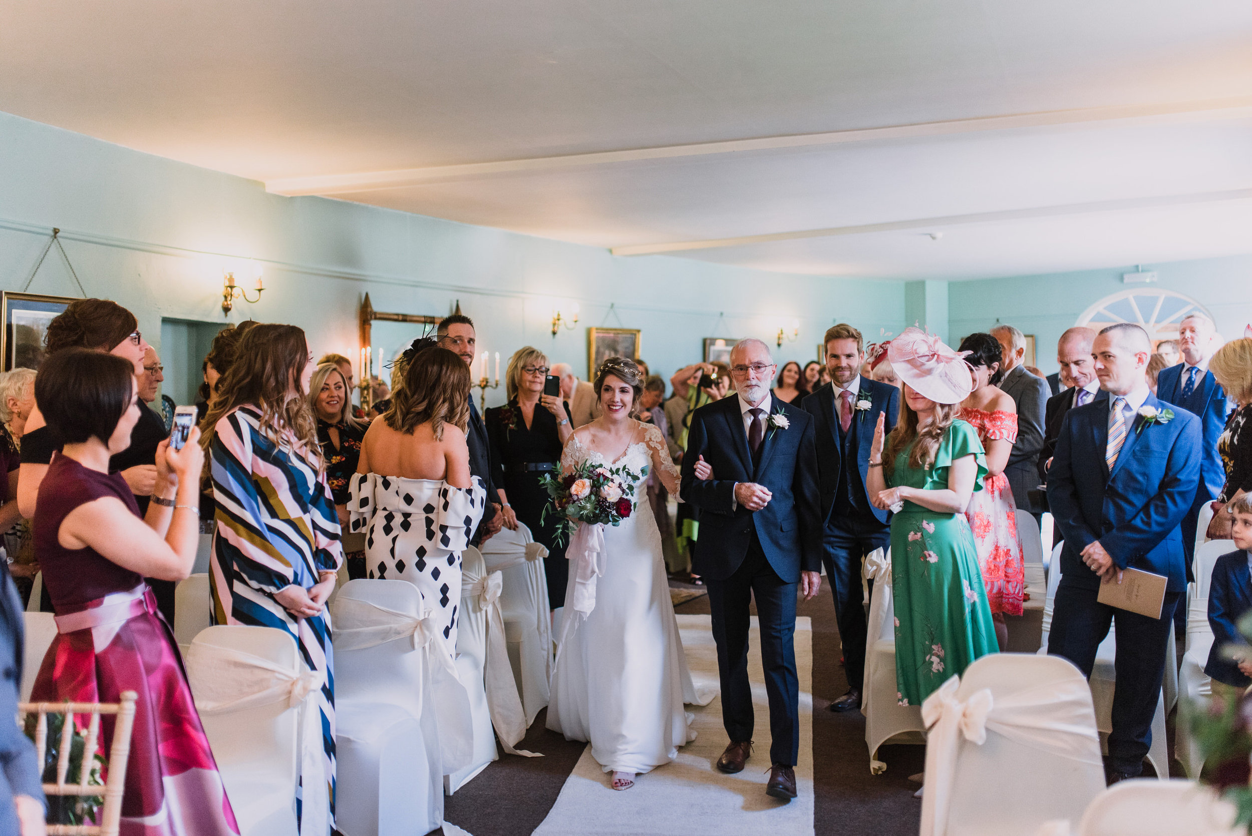 lissanoure castle wedding, northern ireland wedding photographer, romantic northern irish wedding venue, castle wedding ireland, natural wedding photography ni (47).jpg