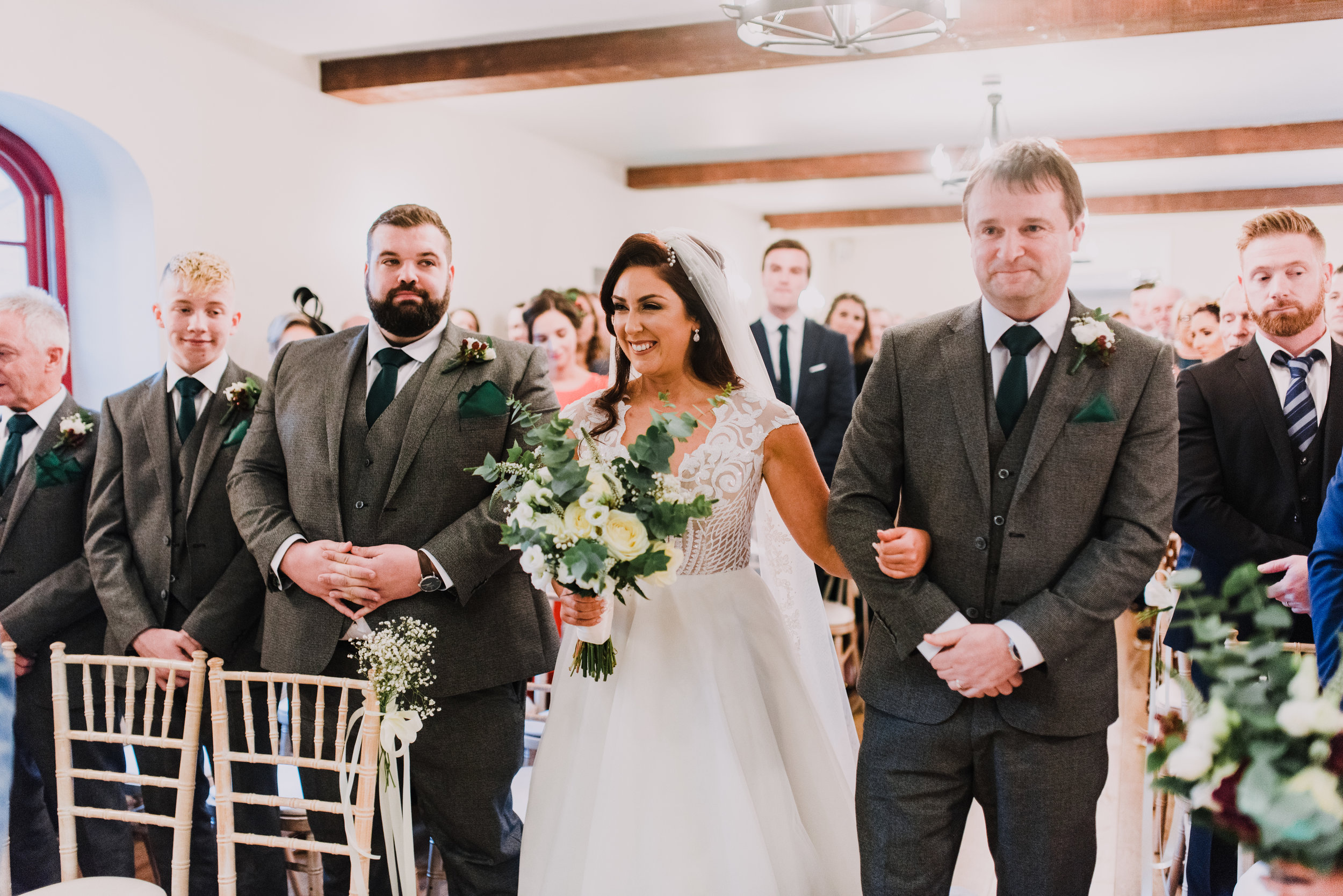 larchfield estate wedding, wedding venues northern ireland, barn wedding venues northern ireland, quirky weddings northern ireland, 5 star wedding venues ni, wedding ceremony larchfield estate  (4).jpg