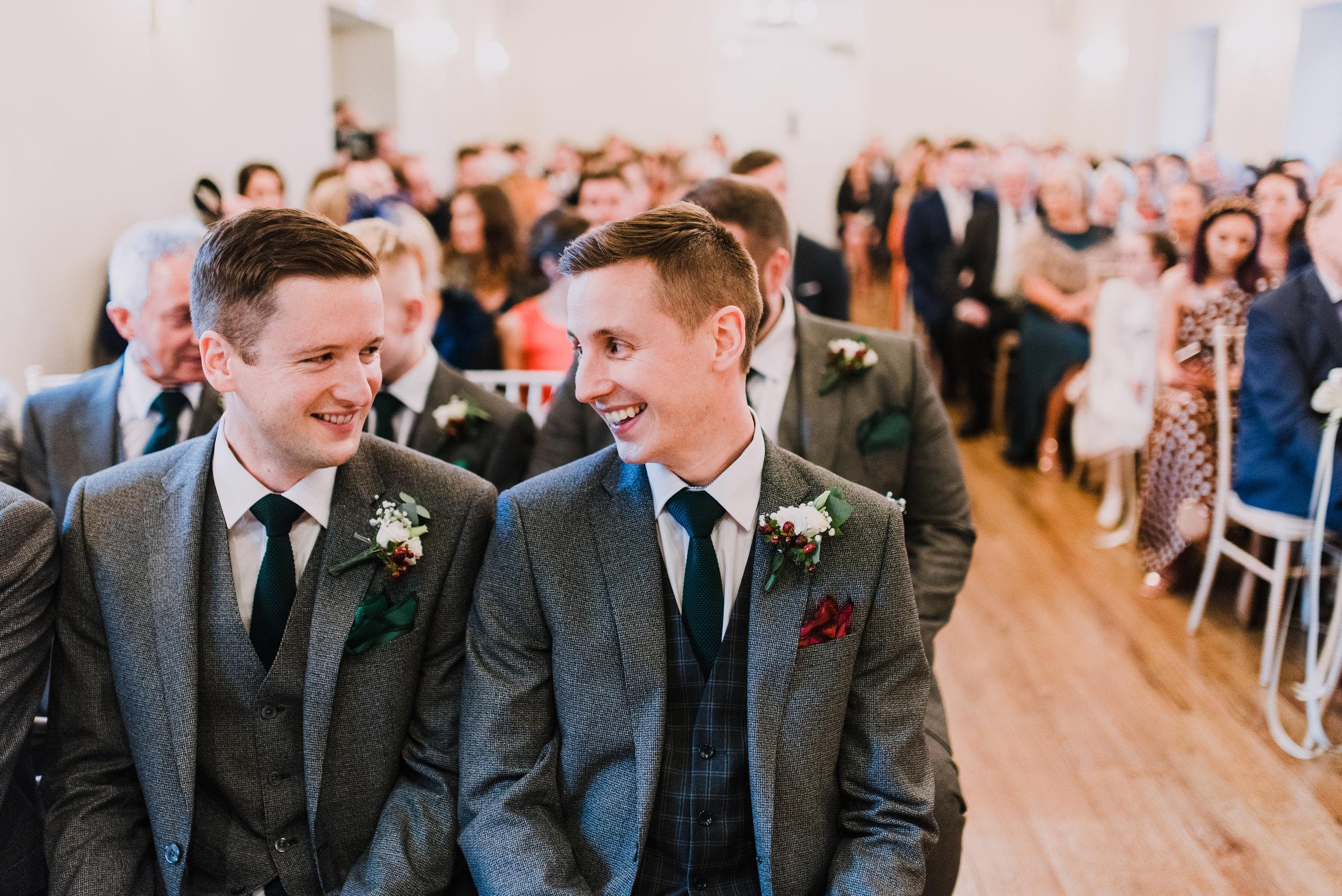 larchfield estate wedding, wedding venues northern ireland, barn wedding venues northern ireland, quirky weddings northern ireland, 5 star wedding venues ni, wedding ceremony larchfield estate (1).jpg