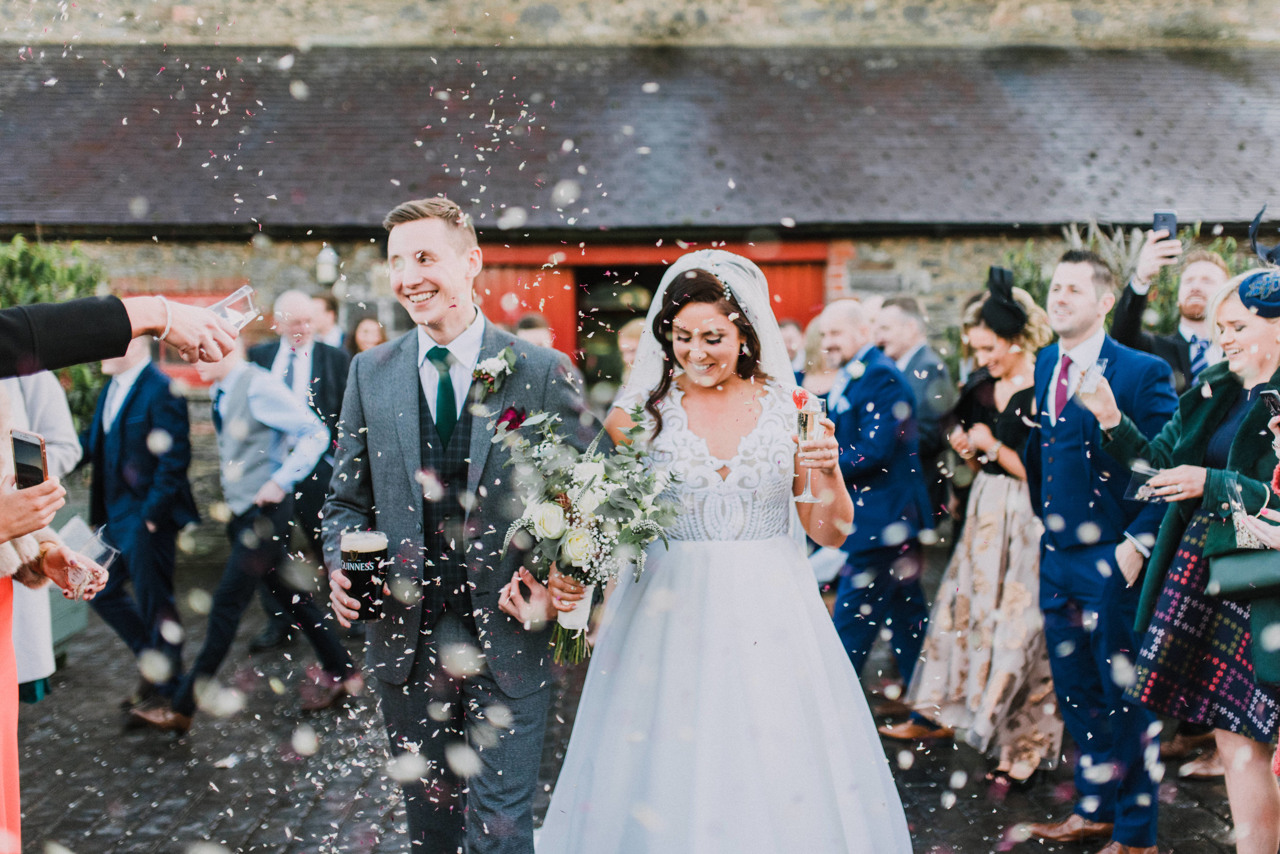 larchfield estate wedding, wedding venues northern ireland, barn wedding venues northern ireland, quirky weddings ni, wedding photos larchfield estate, shane todd's wedding (3).jpg