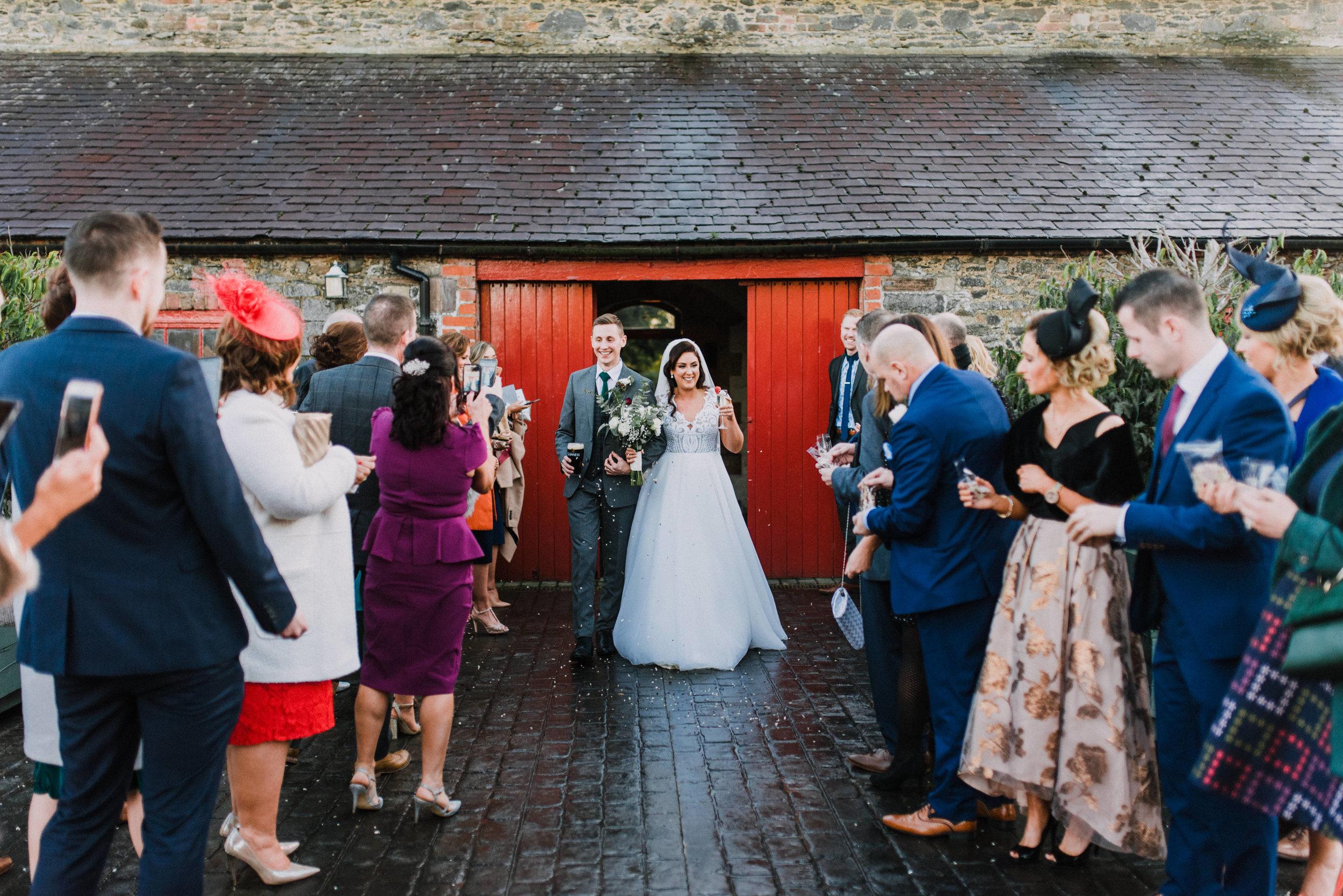 larchfield estate wedding, wedding venues northern ireland, barn wedding venues northern ireland, quirky weddings ni, wedding photos larchfield estate, shane todd's wedding (2).jpg