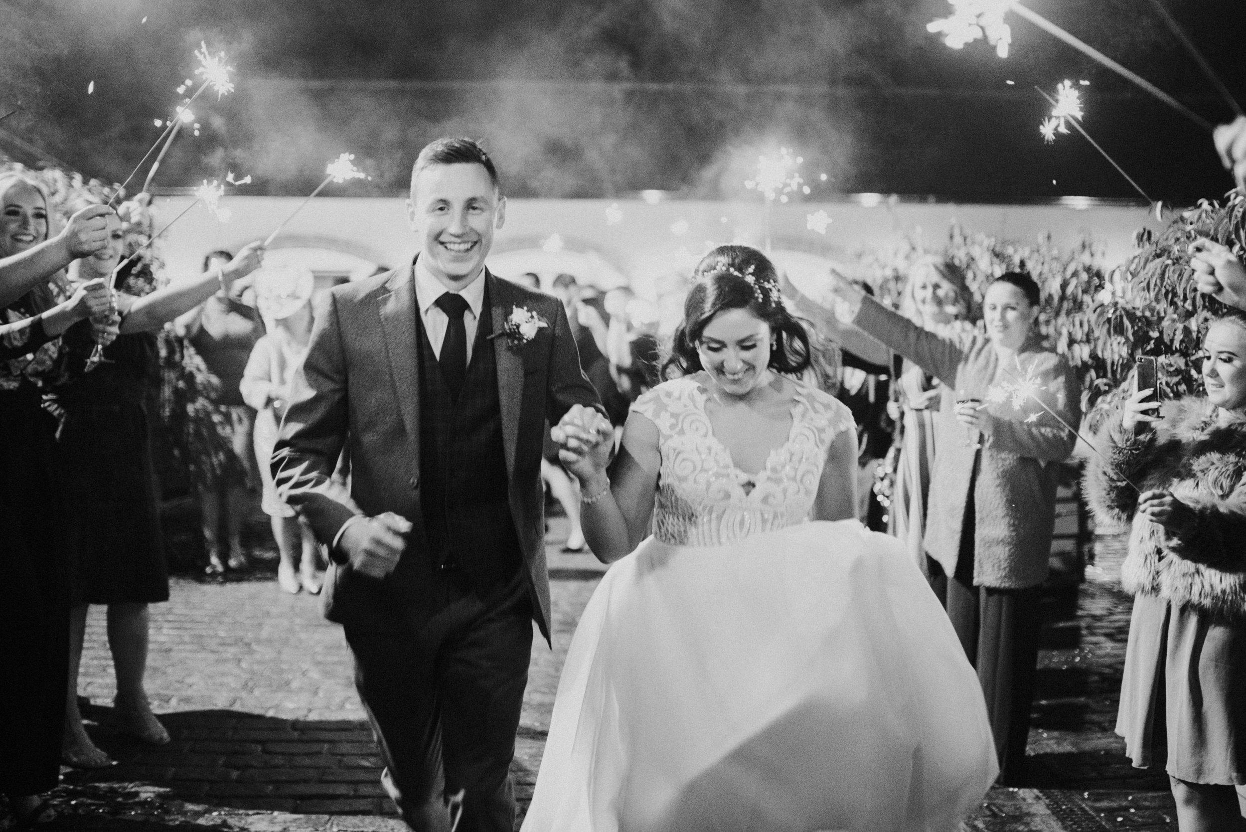 larchfield estate wedding, wedding venues northern ireland, barn wedding venues northern ireland, wedding photos larchfield estate, shane todd wedding, wedding sparklers, irish wedding (1).jpg