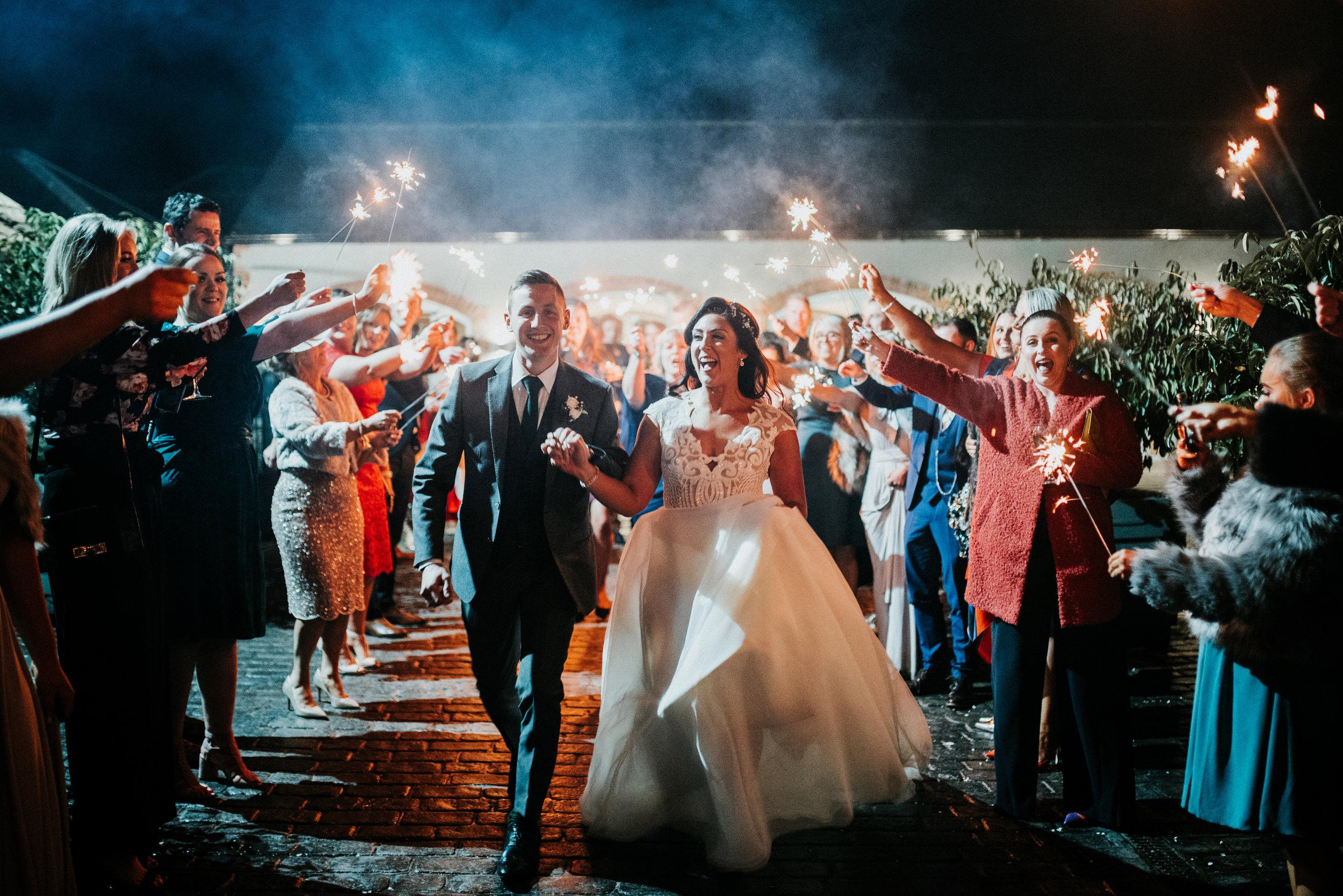larchfield estate wedding, wedding venues northern ireland, barn wedding venues northern ireland, wedding photos larchfield estate, shane todd wedding, wedding sparklers, irish wedding (2).jpg