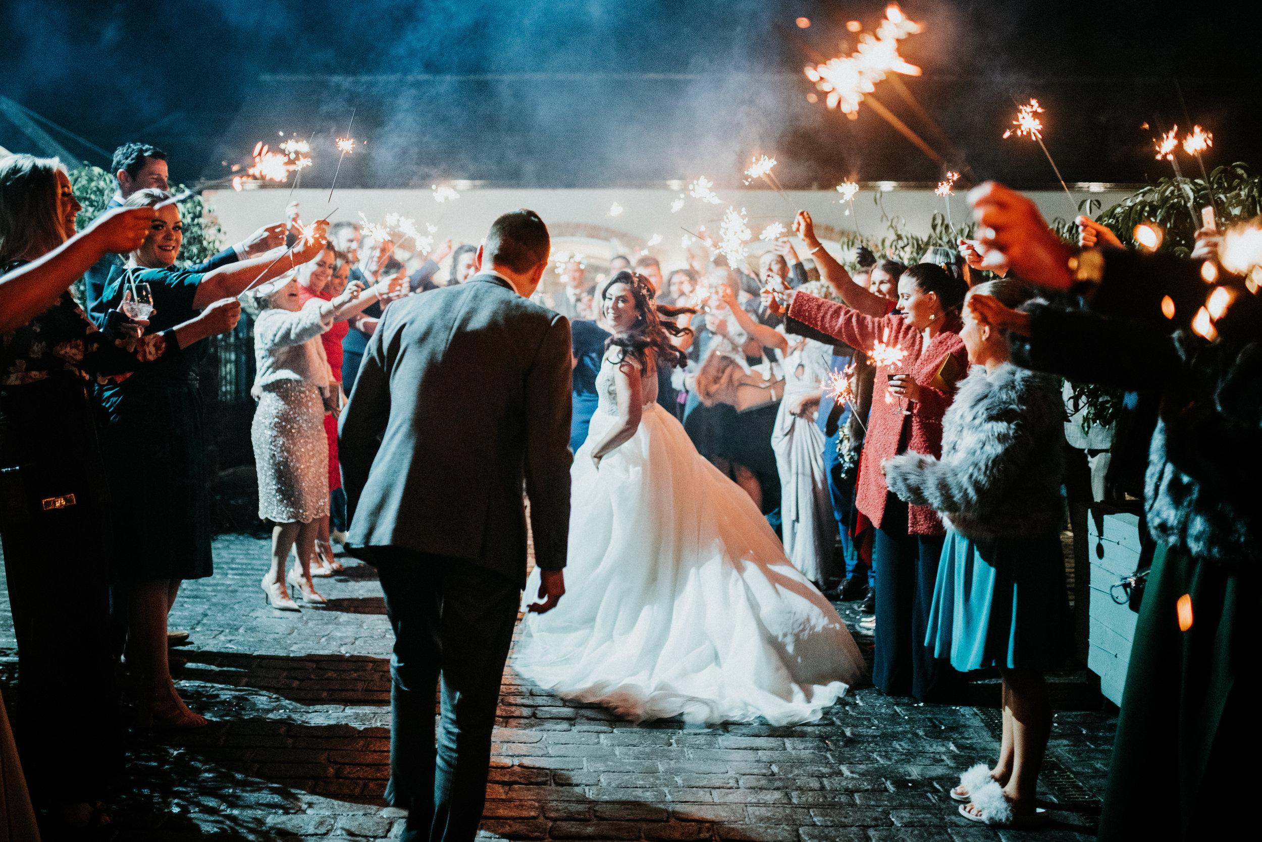 larchfield estate wedding, wedding venues northern ireland, barn wedding venues northern ireland, wedding photos larchfield estate, shane todd wedding, wedding sparklers, irish wedding (3).jpg