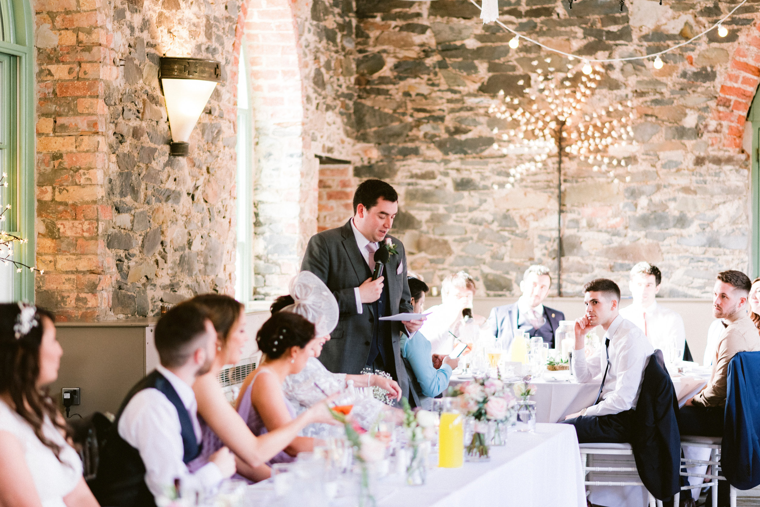 orange tree wedding, barn wedding venue northern ireland, rustic wedding venues NI, bright wedding venues northern ireland, greyabbey wedding venue, wedding speeches, first dance (2).jpg
