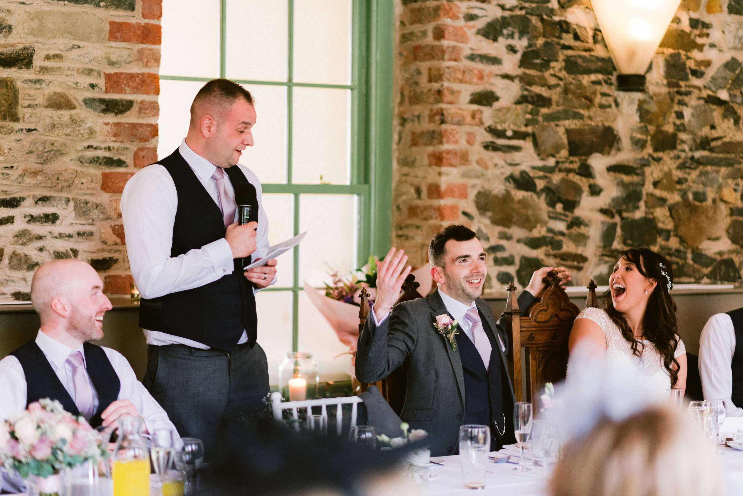 orange tree wedding, barn wedding venue northern ireland, rustic wedding venues NI, bright wedding venues northern ireland, greyabbey wedding venue, wedding speeches, first dance (8).jpg