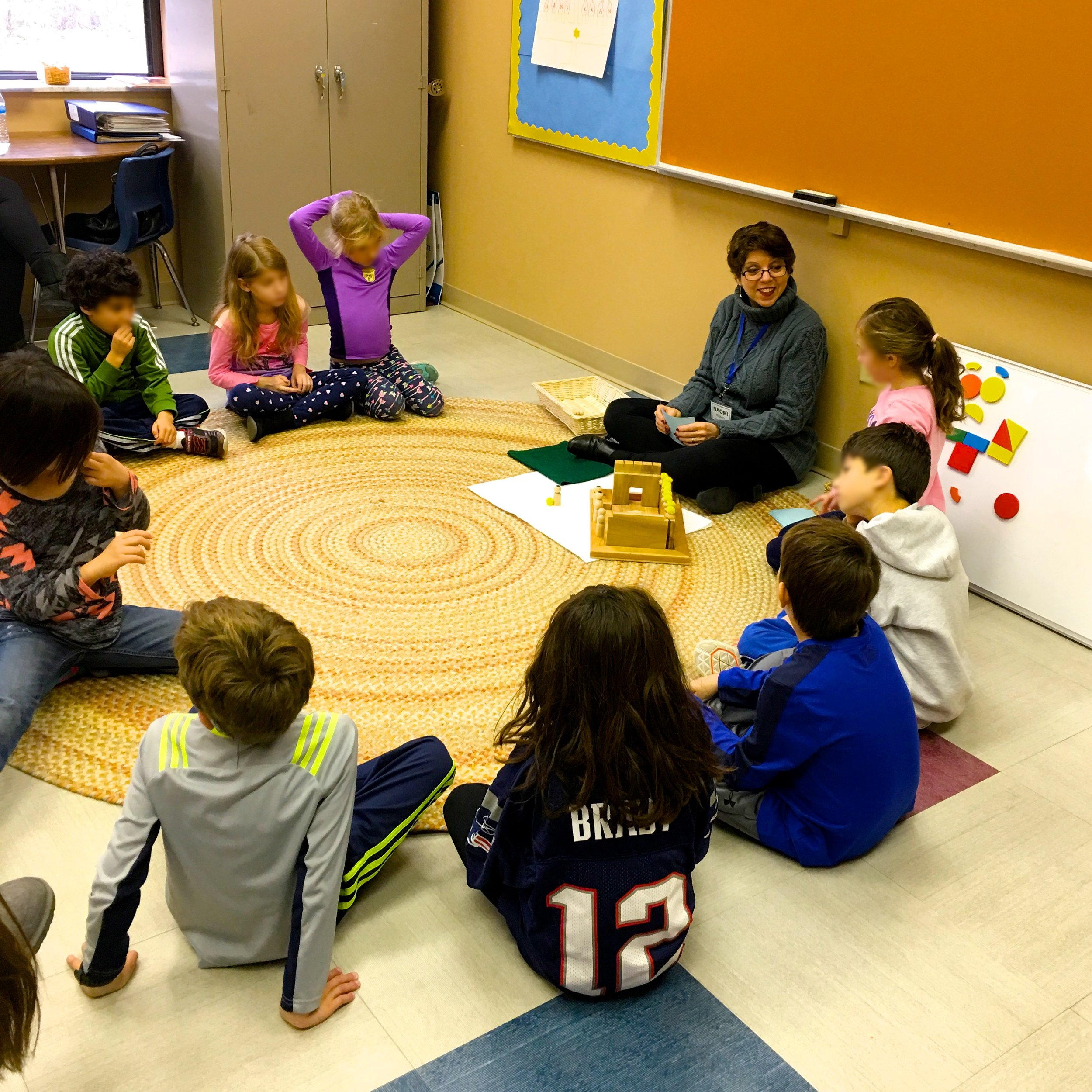Students Learn the Story