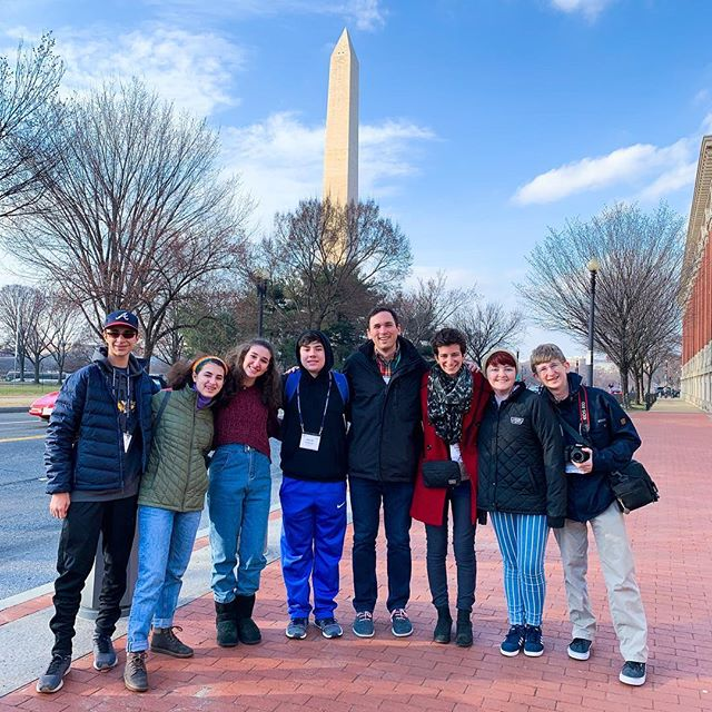 ⠀⠀⠀⠀⠀⠀⠀⠀⠀ 🇺🇸Always a treat to be in our nation's capital. ⠀⠀⠀⠀⠀⠀⠀⠀⠀ ⠀⠀⠀⠀⠀⠀⠀⠀⠀ 👨‍👩‍👧‍👦 This weekend I joined with teens from our confirmation class who learned from @theracgram how to lobby their elected officials based in Jewish values. ⠀⠀⠀⠀⠀⠀⠀⠀⠀ ⠀⠀⠀⠀⠀⠀⠀⠀⠀ Teens are resilient. Teens are powerful. Let us listen. ⠀⠀⠀⠀⠀⠀⠀⠀⠀ ⠀⠀⠀⠀⠀⠀⠀⠀⠀ 📍Washington D.C. ⠀⠀⠀⠀⠀⠀⠀⠀⠀ ⠀⠀⠀⠀⠀⠀⠀⠀⠀ ⠀⠀⠀⠀⠀⠀⠀⠀⠀ #jewish #judaism #jewishlife #rabbi #reformjudaism #religion #racltaken #faith #spiritual #soul #nfty #youth #youthgroup #jewishatl #jewishatlanta  #politicalaction #jewishvalues #therac @reformjudaism @reform_rabbis