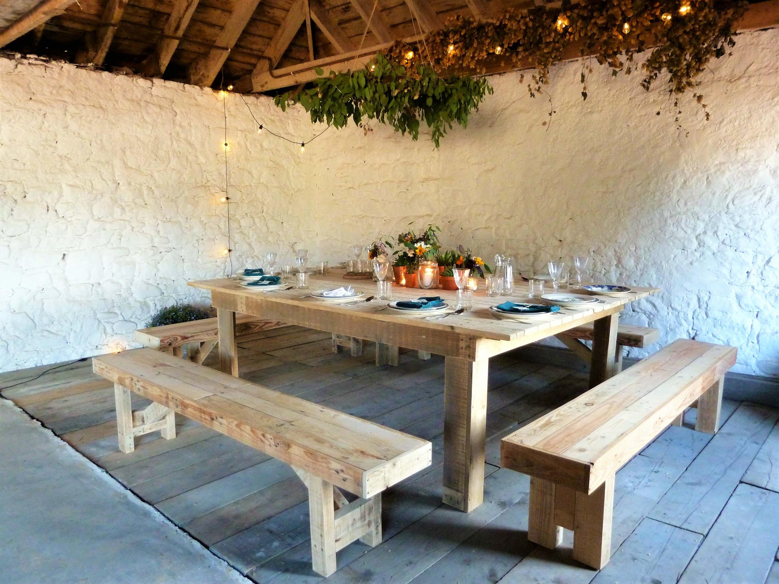 Copy of Farmhouse table | table hire